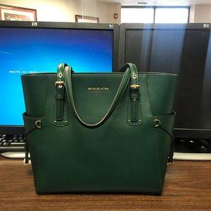 Brand New MK green tote bag